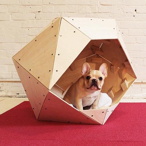 Красивые домики для собак в квартиру своими руками: 6 подробных мастер классов